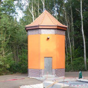 Neues Brunnenhaus im September 2019